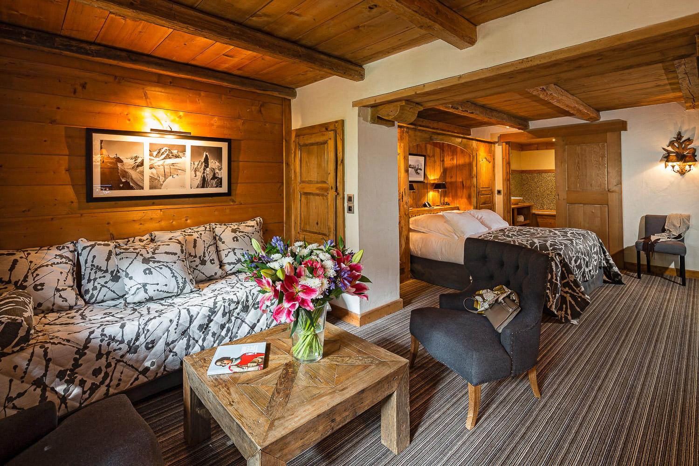 roomLe Fer à Cheval ·5-Star Hotel Megève· Haute-Savoie